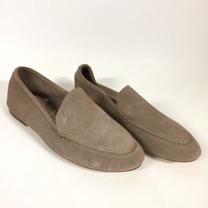 A New Day Mila Taupe Brown Suede Loafer